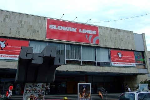 Bratislava Bus Station from outside