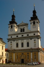 The Church of St. John of Baptist in Trnava