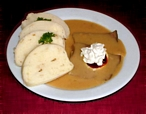 Sviekov (Czech beef with Cream Sauce)
