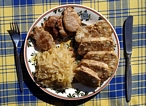 Vepo-Knedlo-Zelo (Pork with Dumplings and Cabbage)