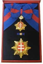 Order of the White Double Cross, 1st Class