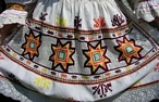 Embroidered Folk Skirt