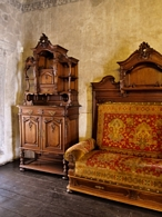 Interior of Orava Castle